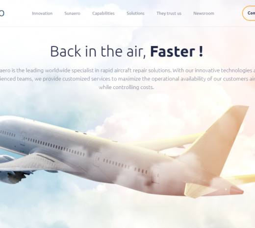 Sunaero's New Website