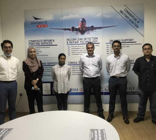 Senai Airport and Sunaero Asia - Promoting MRO's activities