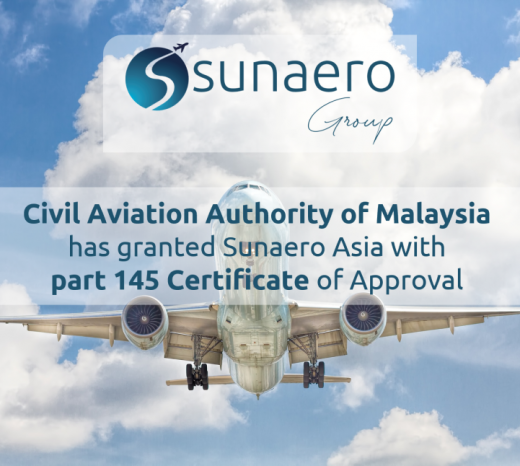 Sunaero Asia - CAAM Part 145 Approval